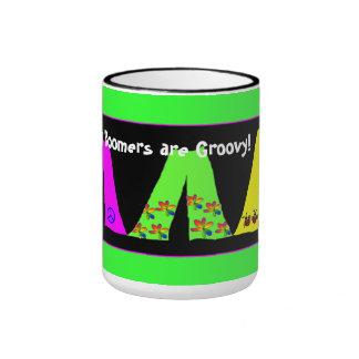 Groovy Baby Boomers Coffee Mug