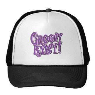 groovy baby trucker hats