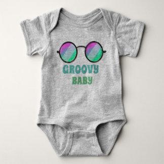 Groovy Baby One Piece Baby Bodysuit