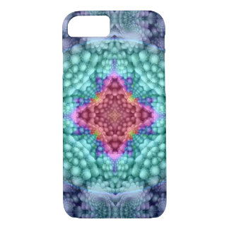 Groovy  Blue   Colorful Barely There iPhone 7 Case