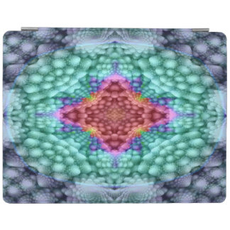 Groovy Blue   Kaleidoscope     iPad Smart Covers iPad Cover