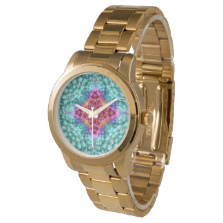 Groovy Blue  Vintage Womens Watch