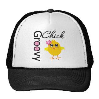 Groovy Chick Trucker Hat