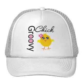 Groovy Chick Trucker Hats