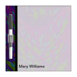 groovy colorful purple abstract Dry-Erase boards