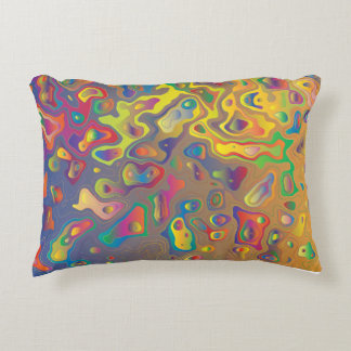 Groovy Colors Accent Pillow