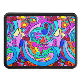 groovy colors love trailer hitch hitch cover