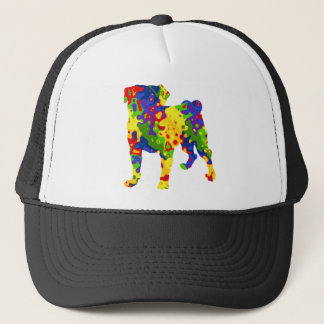 groovy colors pug.png trucker hat