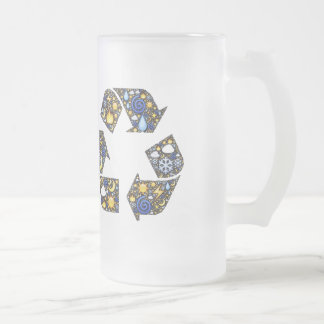 Groovy Ecology Frosted Glass Mug