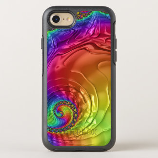 Groovy Fractal Image on iPhone 7 Symmetry Case