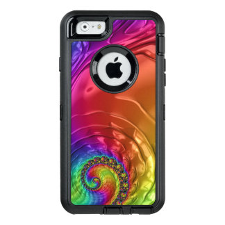 Groovy Fractal Image on Otterbox for iPhone 6/6s