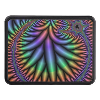 Groovy Fractal Tow Hitch Cover