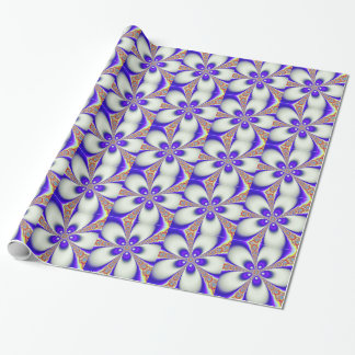 Groovy Fractal Wrapping Paper