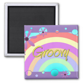 Groovy Fridge Magnets