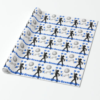 Groovy GrandDude Wrapping Paper