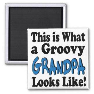 Groovy Grandpa Magnets