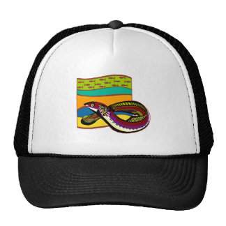 Groovy Green Eel Trucker Hat