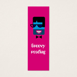 Groovy Guy bookmark Mini Business Card