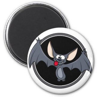 Groovy Happy Halloween Bat Magnets