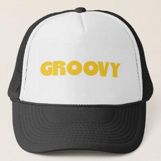 Groovy Hippie Peace Sign Love Sixties Seventies Trucker Hat