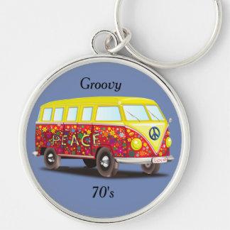 Groovy Key Chain