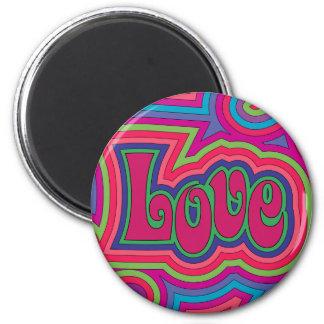 Groovy Love Magnet