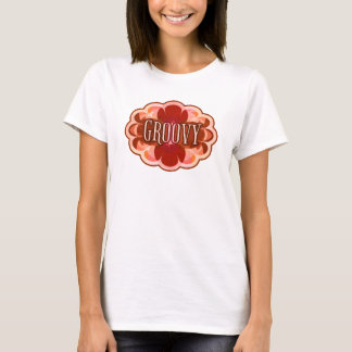 """Groovy"" Mocha T-Shirt"