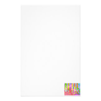 Groovy Musical Abstract Stationery