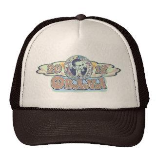Groovy Obama 2012 Gear Trucker Hats