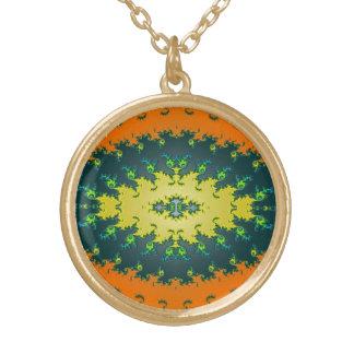 Groovy Orange Yellow Black Abstract Jewelry
