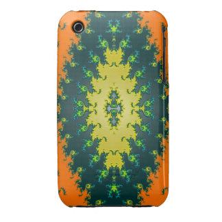 groovy orange yellow black iPhone 3 cases