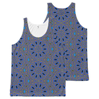 Groovy Pattern, Man All-Over Print Singlet