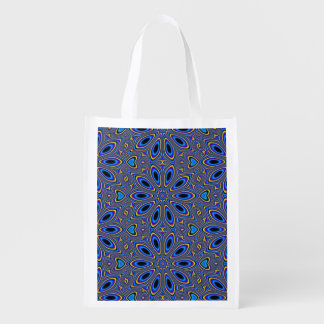 Groovy Pattern, Man Reusable Grocery Bag