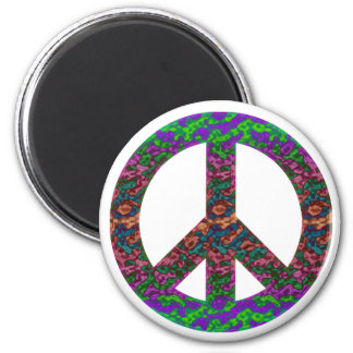 Groovy Peace Magnet