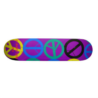 GROOVY PEACE PRO SKATEBOARD - CUSTOMIZED SIZING