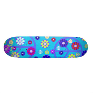 GROOVY PEACE SKATEBOARD - BY LIBERTY DOG PRO SHOP