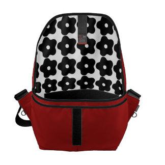 Groovy Pop-Art Floral Reverse Messenger Laptop Bag Courier Bags