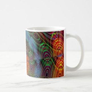 Groovy psychedelic value mug