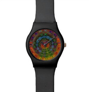 Groovy psychedelic watch