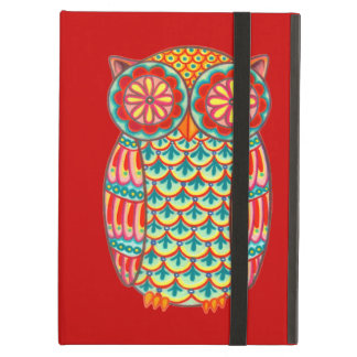 Groovy Retro Owl iPad Case