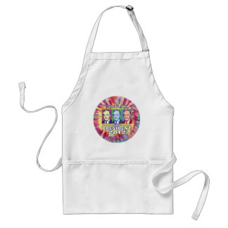 Groovy Ron Paul for President Adult Apron
