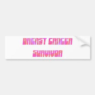 Groovy Survivor Bumper Sticker