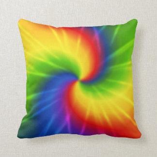 Groovy Tie Dye Throw Cushions