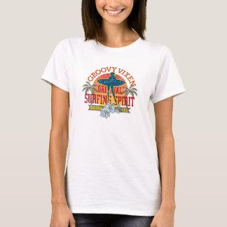 Groovy Vixen Surfer Girl T T-Shirt