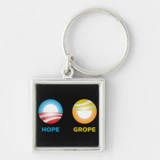 Grope Nope Key Ring