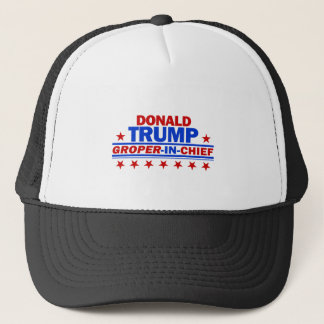 Groper In Chier Trucker Hat