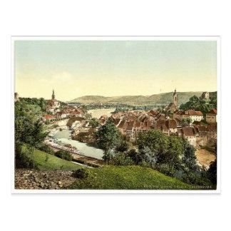 Gross and Klein Laufenburg, Aargau, Switzerland vi Postcard