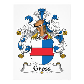 Gross Family Crest Custom Invitations