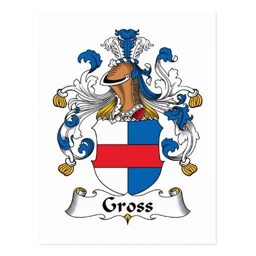 Gross Family Crest Postcards
