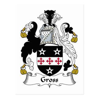 Gross Family Crest Postcard